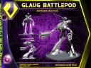 Robotech Gaulg Battlepod