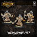 Warmachine Mercenaries Tactical Arcanist Corps
