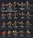 Dwarves Female Characters set 2