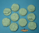 Bases az-tech 30mm set one