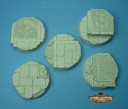 Bases az-tech 40mm set two