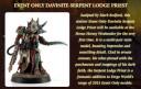 Event Davinite Serpent Lodge Priest