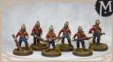 Meridian Miniatures Kickstarter British soldiers