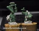 Dwarfs Miners wip - 28mm