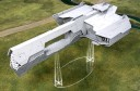 Spartan Scenics Invincible Class Planetary Gunship (15mm 28mm variant) 2