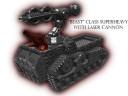 6mm_Metal Beast Class Superheavies
