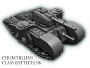 6mm_Metal Churchillian Tank