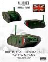 Alien Dungeon British MK-2 tank