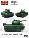 All quiet British main tank