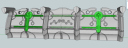 Space Undead Defensive Walls