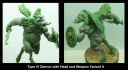 Inferna Miniatures Type IV Demon 2
