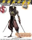 Escape Kickstarter 90000 Yellow Okoshu