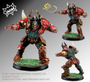 Willy Miniatures Chaos leader star player