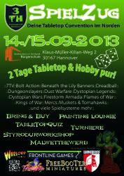 Spielzug 2013 Hannover Plakat