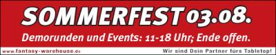 Fantasy Warehouse Sommerfest 2013