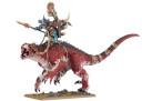 Warhammer Fantasy Carnosaurier Troglodon der Echsenmenschen 1