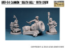 "Lead Adventure - Cannon ""Death Bell"" with Crew"