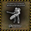 Acid Blasters mit Krieger