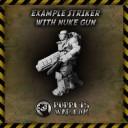 Nuke guns mit Krieger