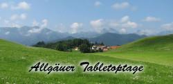 Tabletopwoche im Allgäu