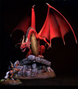Elmore Dragons Special Edition Resin Diorama Kit 1