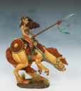 Mounted Female Warrior