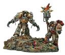 Kor Phaeron and Erebus of the Word Bearers Legion