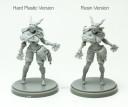 Kingdom Death Hartplastik vs Resin 1