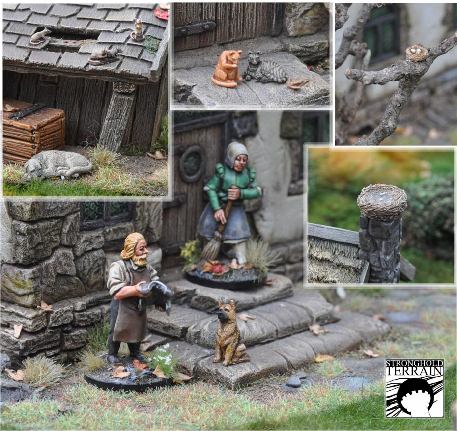 stronghold terrain neue homepage kleine tiere br ckenkopf das tabletop hobby portal. Black Bedroom Furniture Sets. Home Design Ideas