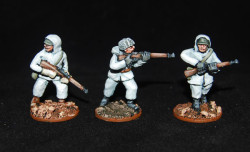Painted Finnish Riflemen