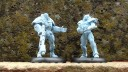 Warzone Armoured Chasseur and Brotherhood Trooper