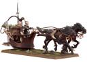 Warhammer Fantasy Geißelkufen-Streitwagen Echsenstreitwagen