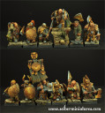 Dwarves Ducal Guard 12 miniatures 2