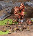 Drake Armeen Gruppenbild Drachen