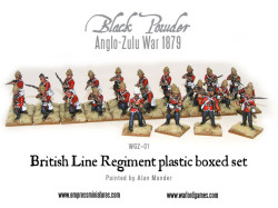 Anglo-Zulu War British Infantry 1879 2