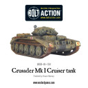 Bolt Action Crusader MK I II tank 1