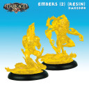 Dragyri Fire Caste Embers (Clear Yellow Resin)