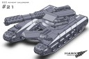 UCM light tank with flamer