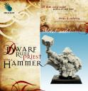 Dwarf Rune Priest with a Hammer