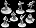Dystopian Legions Russian Coalition Officer and Infantry 1