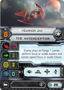 X-Wing Imperial Aces carnor-jax