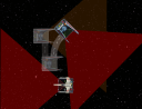 X-Wing Lieutenant Lorrir performs a barrel roll