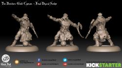 Butchers Guild Captain 3D Sculpt Final Render