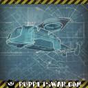 Puppets War Flieger Konzept 2014