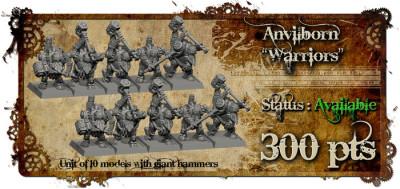 Anvilborn Warriors Titan Forge