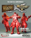 Warzone Heretics Mutant Chronicles RPG Kickstarter