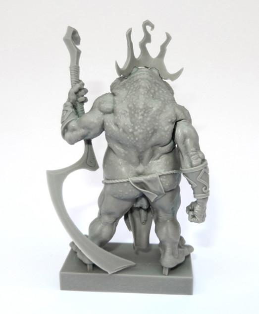 Aradia Miniatures: Toad King – Brückenkopf-Online com – das Tabletop