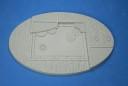 168 mm x 106 mm goth-teck knight base