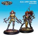 Dark Age  Outcast Aja and Devon