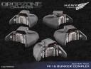 Dropzone Commander Bunker Complex Scenery Pack